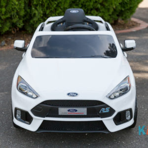 Licensed Ford Focus - White - Front