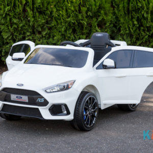 Licensed Ford Focus - White - Front Doors