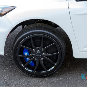 Licensed Ford Focus - White - Wheels