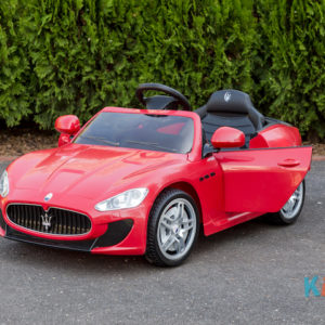 Licensed Maserati GranTurismo MC - Red - Door Open