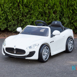 Licensed Maserati GranTurismo MC - White - Profile