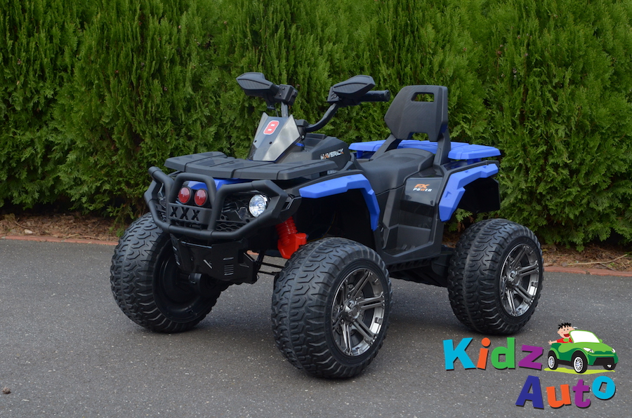 KA430 – Kidz Auto Off Roader – Blue – Profile