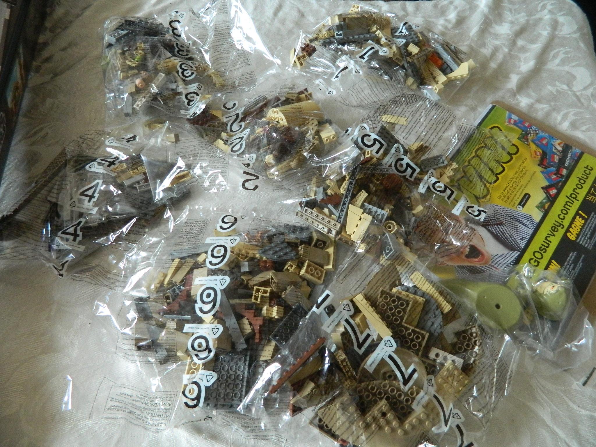 Star Wars Lego Jabba S Palace
