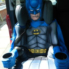 Batman Car Chair Ivory Linen Covers Deluxe Seat