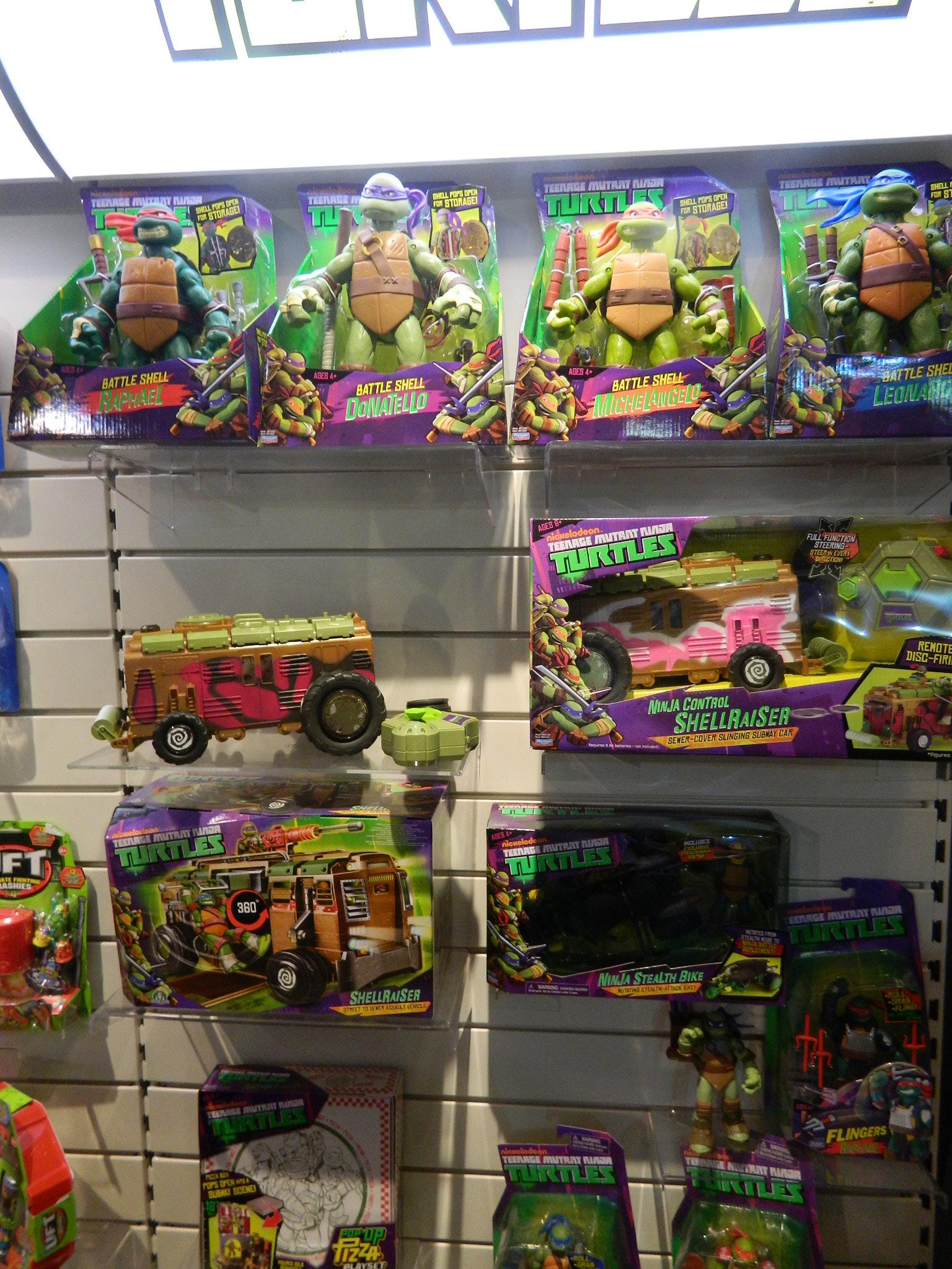 Nickelodeons Teenage Mutant Ninja Turtles Shellraiser