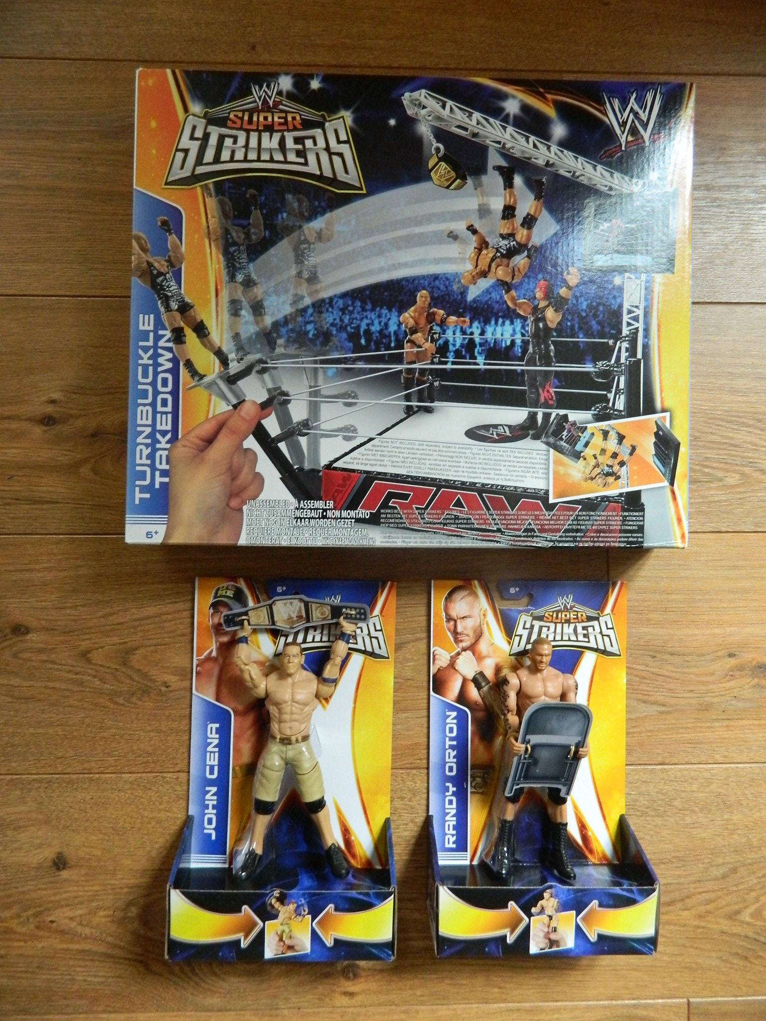 WWE Slam City And WWE Super Strikers