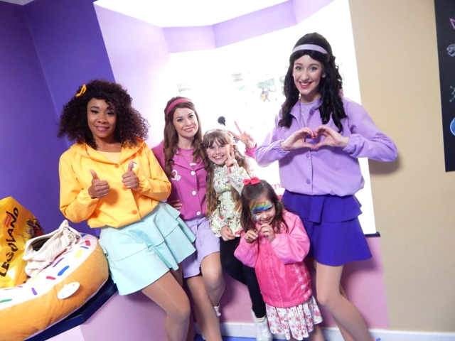 Sophie Meg And Bex At The Lego Friends Launch Party