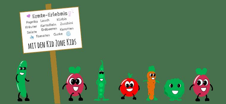 Gemüsekette Kita Kidzone Kinderbetreuung