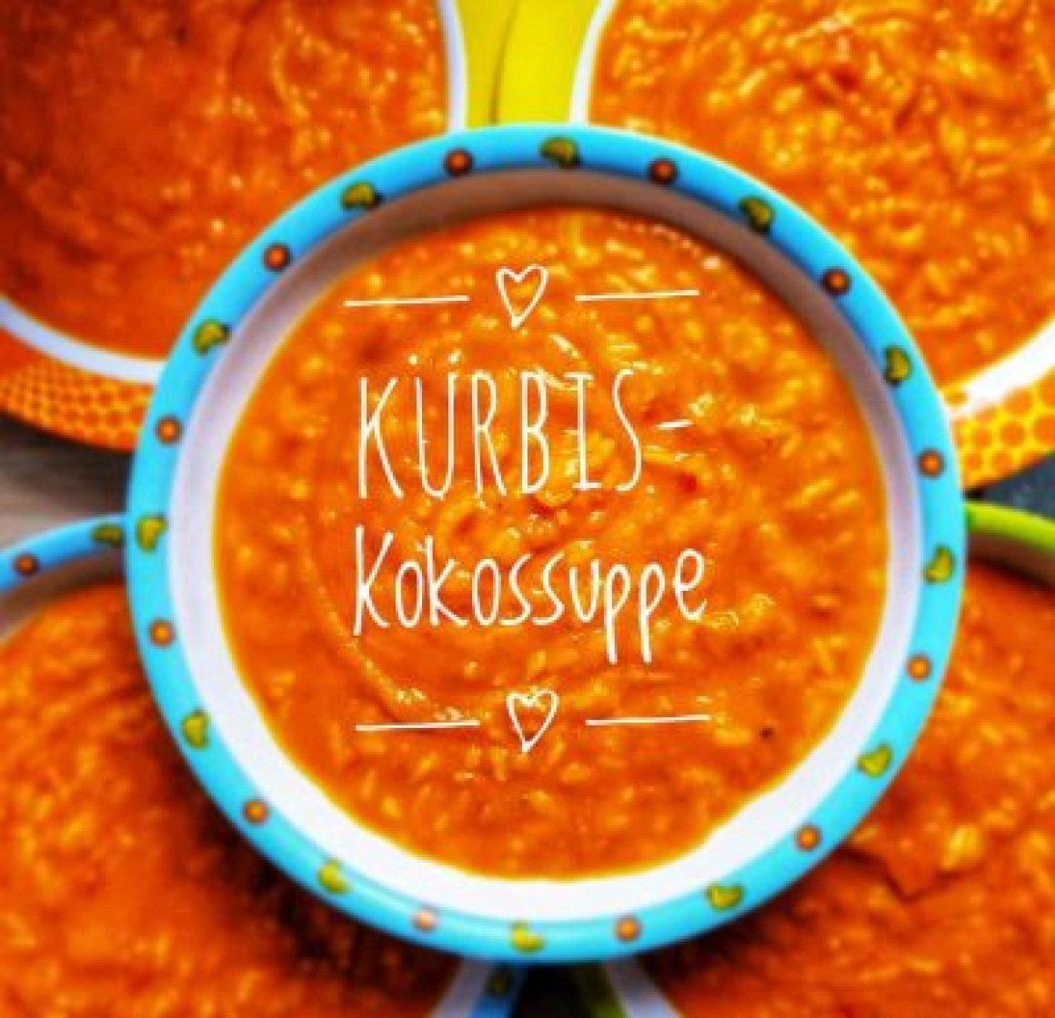 Kita Kürbis-Kokossuppe