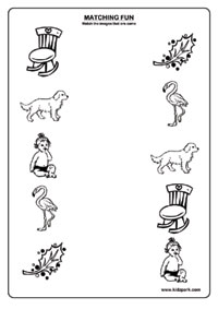 Like Pictures Worksheets,Matching Worksheets for