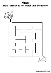 Maze Worksheets,Kindergarten Teachers Resources,Activity