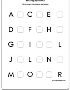 Learning english missing alphabets activity sheet preschool also sheets nede whyanything rh