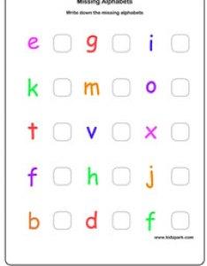 Missing alphabet also alphabets worksheetsenglish worksheets for kidsteachers rh kidzpark