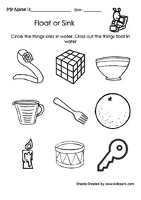 Printable Kids Activity Worksheets,Preschools
