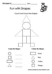 Shape Worksheets Teachers Teaching Aid Worksheets