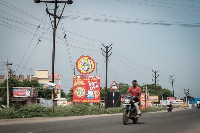 Werbung für einen Feuerwerksfabrikverkauf