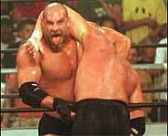 Professional wrestler, Bill Goldberg, is a WWE and WCW champion.