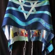 Kosher Tallit Silk Prayer Shawl