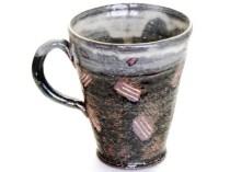 桜象嵌マグカップ