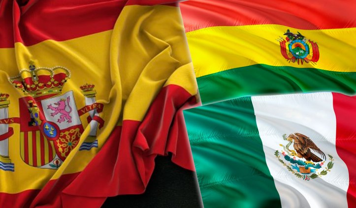 Resultado de imagen para bolivia mexico españa