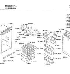 extracts from the docs showing the danfoss compressor and the separate nature of the fridge and freezer as follows  [ 1442 x 1019 Pixel ]