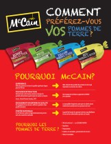 Produce Flyer French, Front