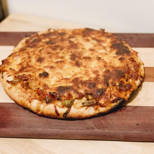 Homemade Cast-Iron Skillet Pizza Recipe