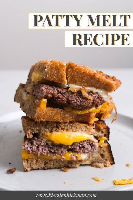 patty melt pin for pinterest