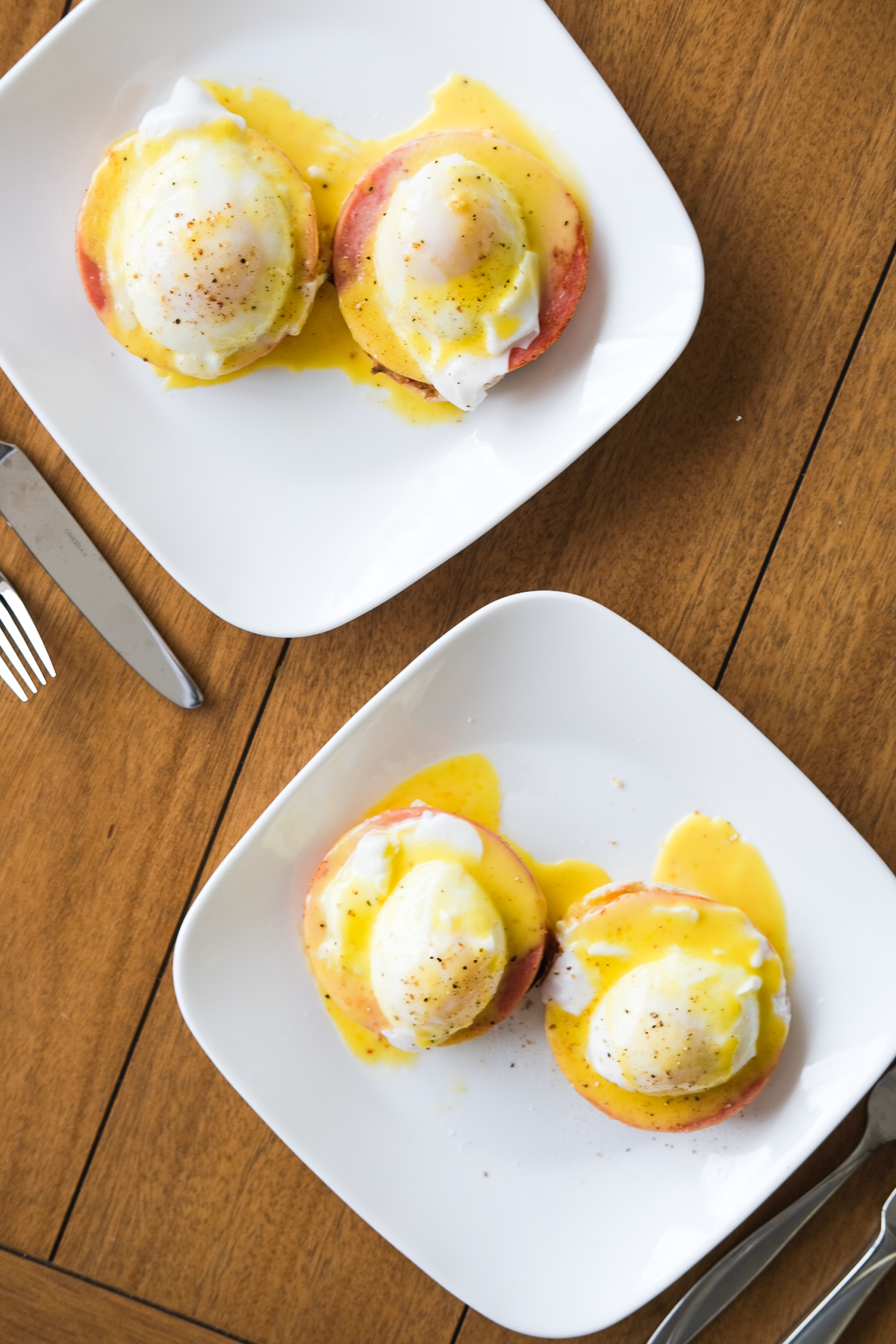 eggs benedict ready to eat for breakfast