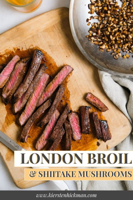 london broil pin for pinterest