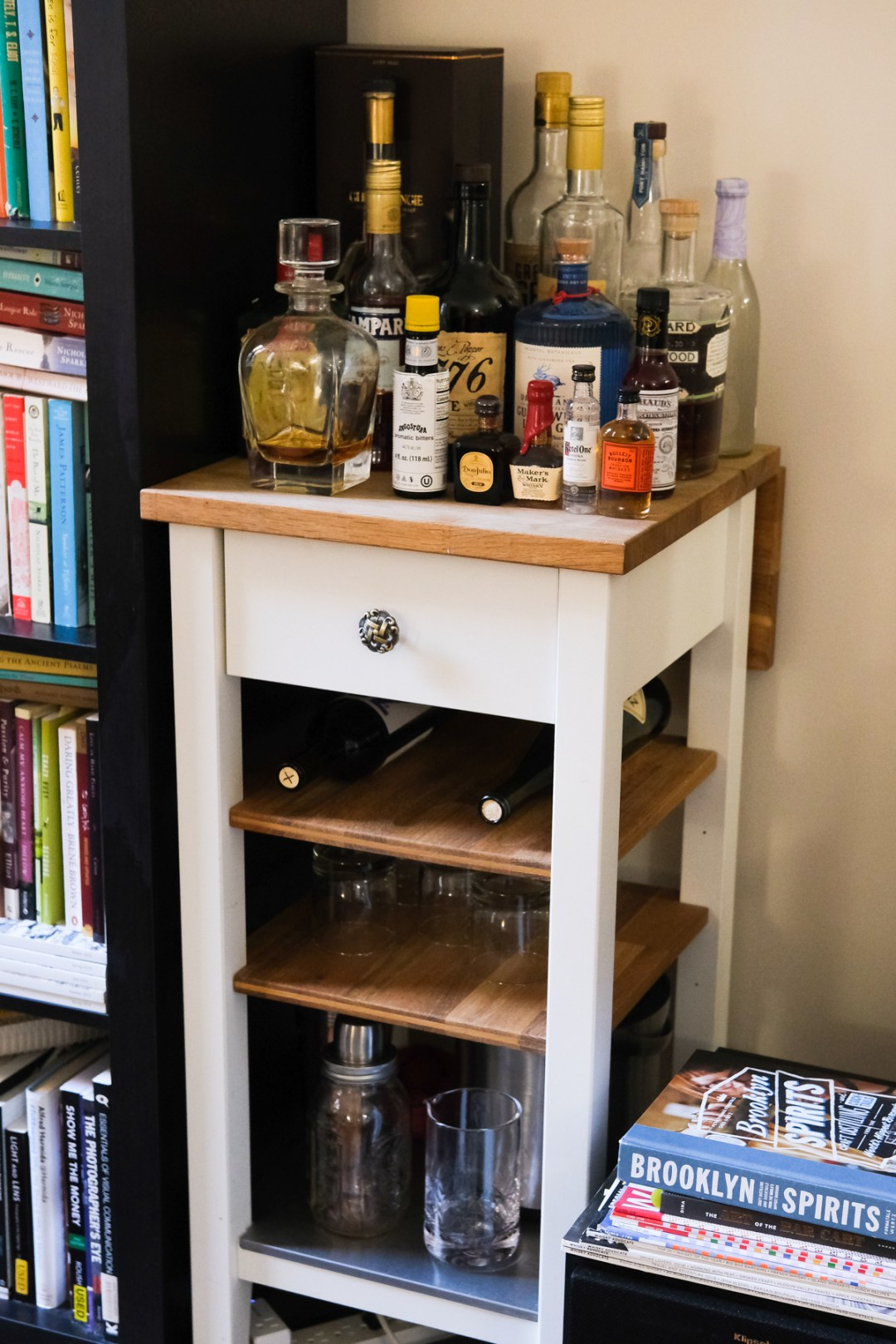 at home bar set up