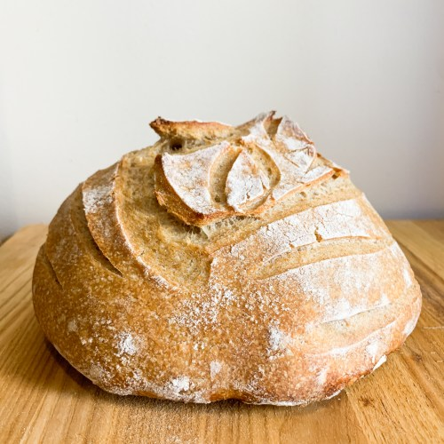 How to Make Sourdough Bread (One Loaf Recipe)