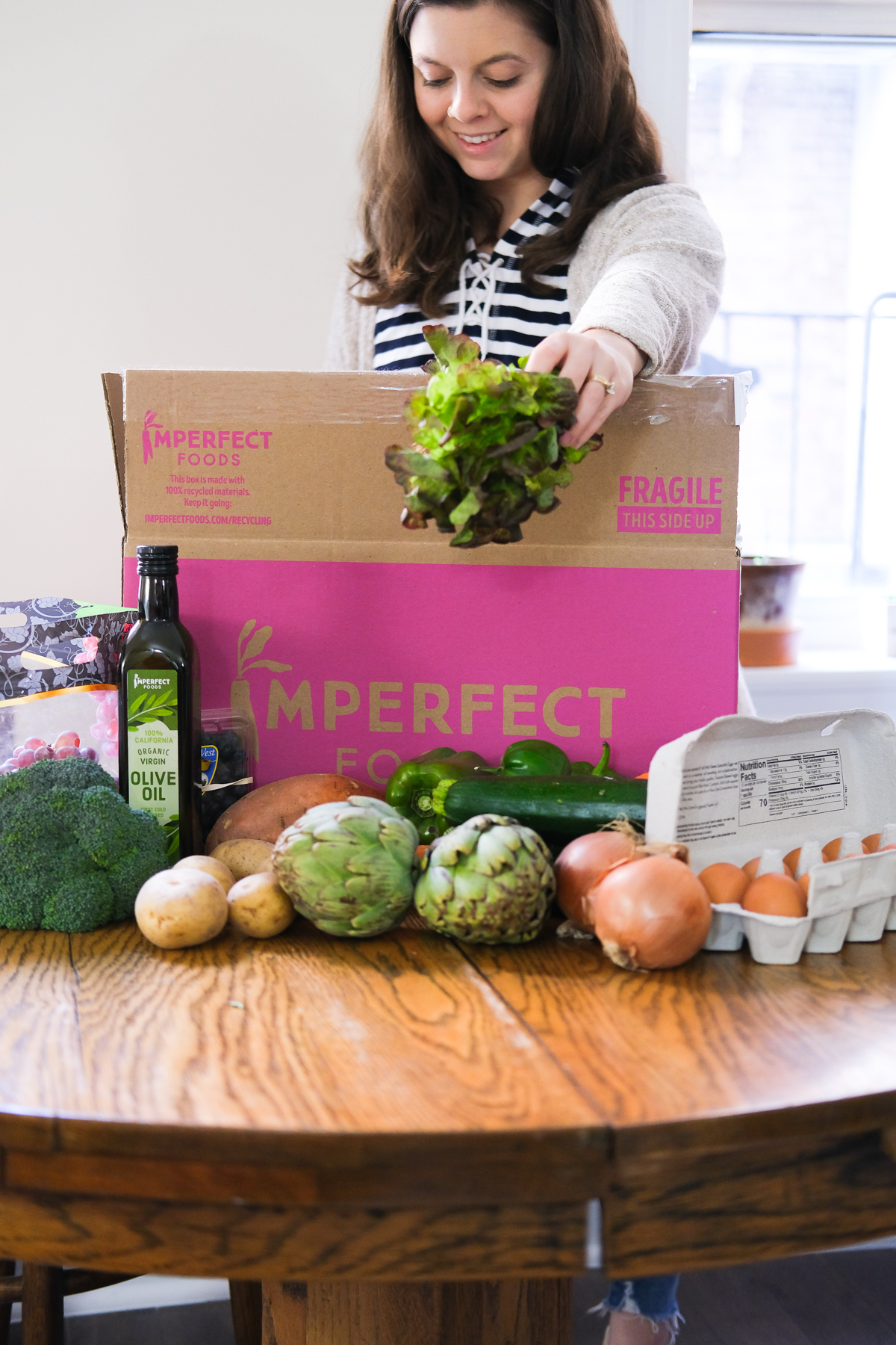 imperfect foods box opening