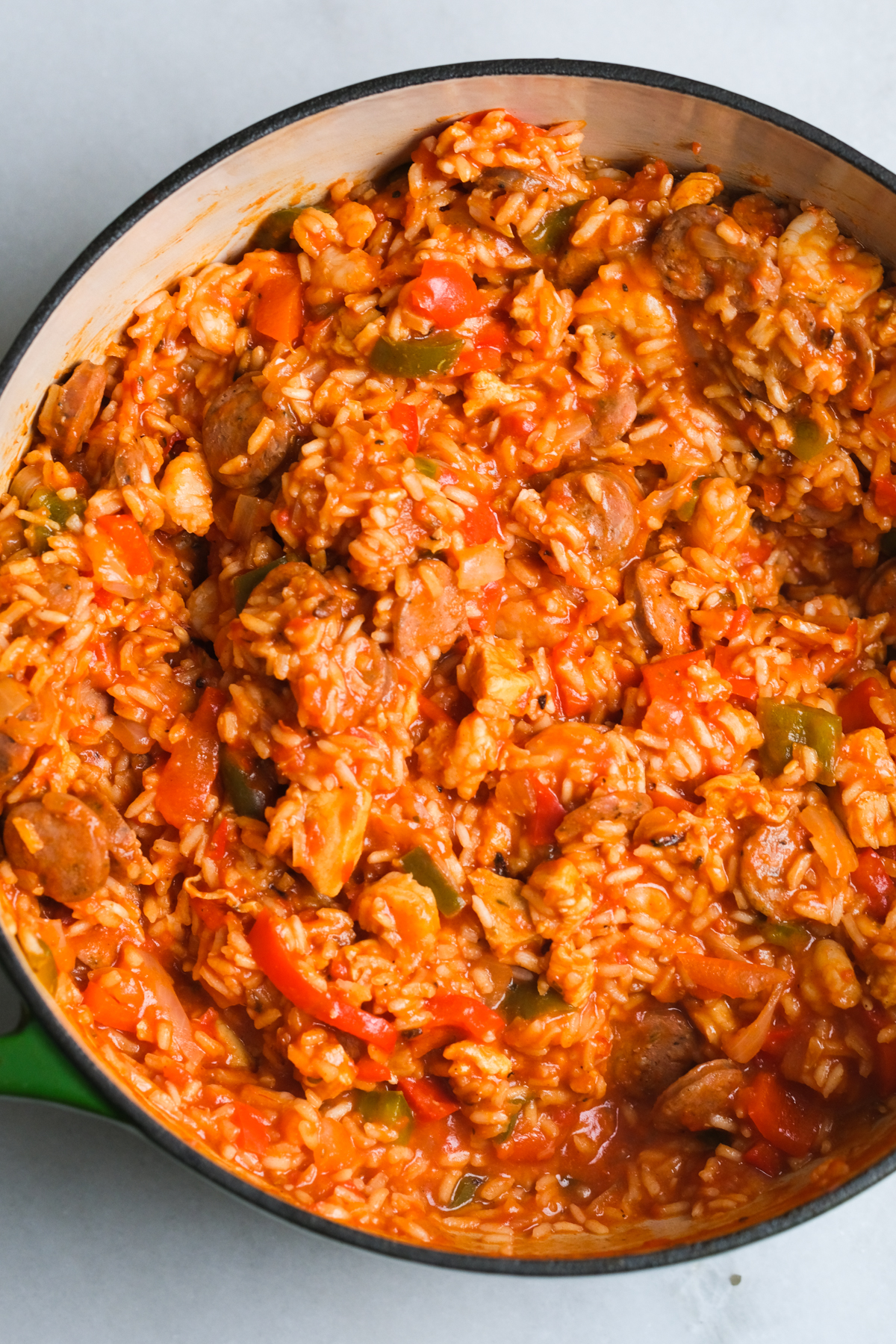one pot of easy to make jambalaya