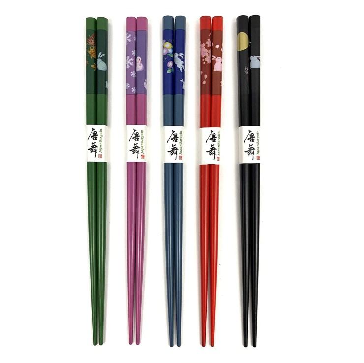 reusable bamboo chopsticks