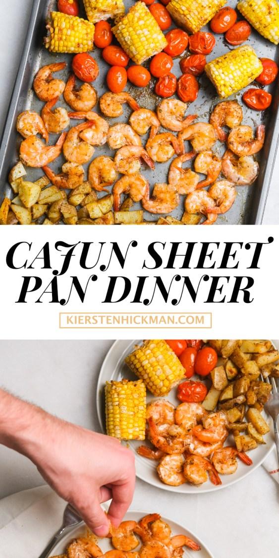 cajun sheet pan dinner