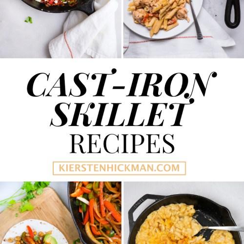 15 Cast-Iron Skillet Recipes