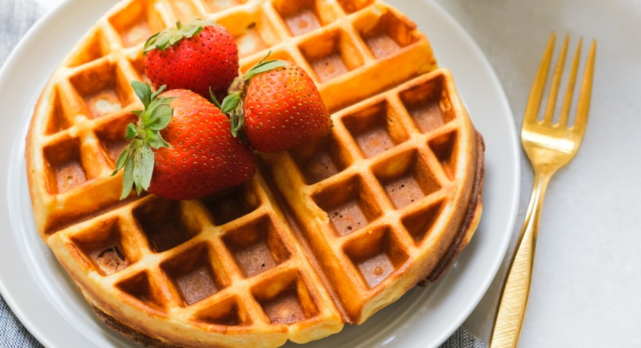 The Easiest Protein Waffle Recipe