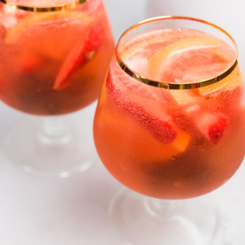 A Refreshing Rosé Sangria Recipe
