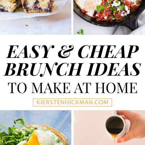 17 Cheap Brunch Recipes to Make at Home