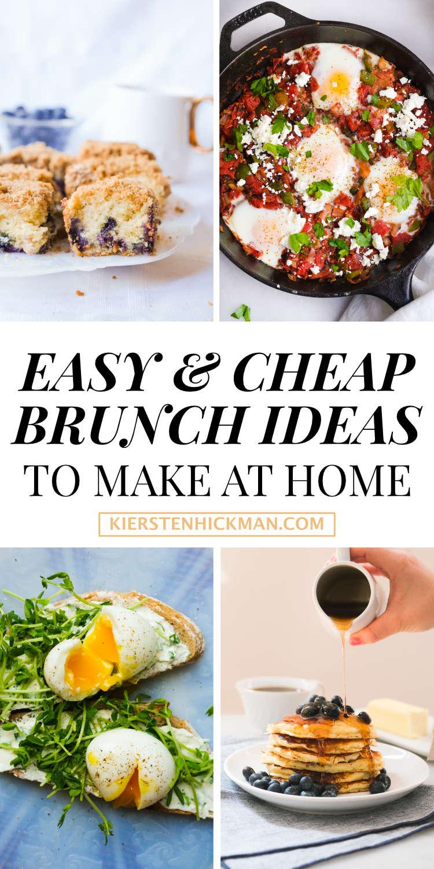 cheap brunch recipes