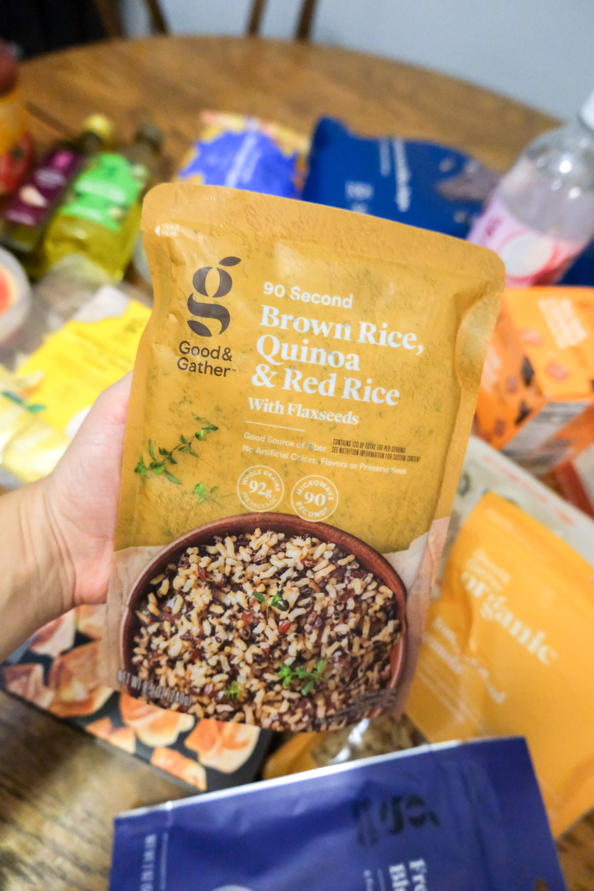 brown rice quinoa mix Good & Gather from Target