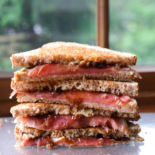 Prosciutto Fig Grilled Cheese