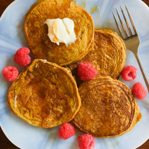 Single-Stack Pumpkin Pancakes