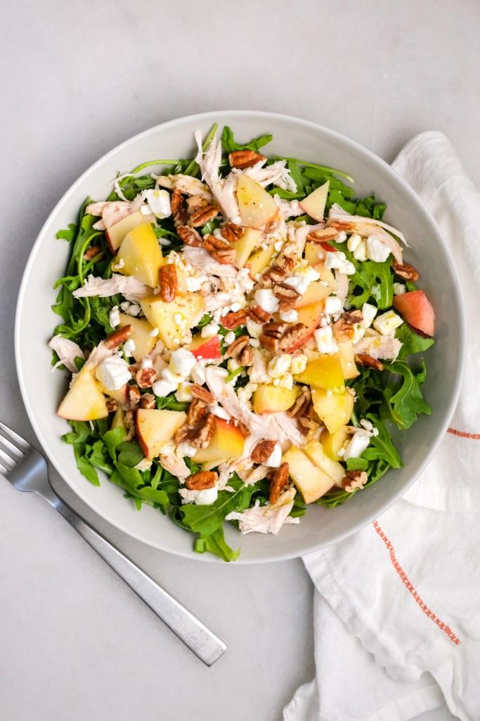 apple chicken pecan salad