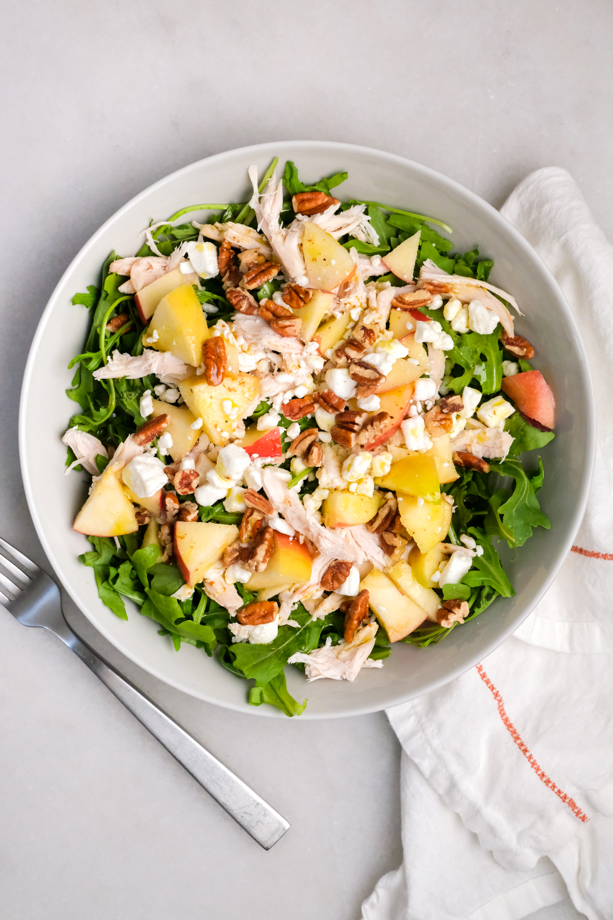 apple chicken pecan salad