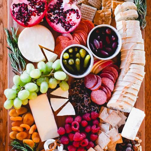 The Perfect Holiday Charcuterie Board