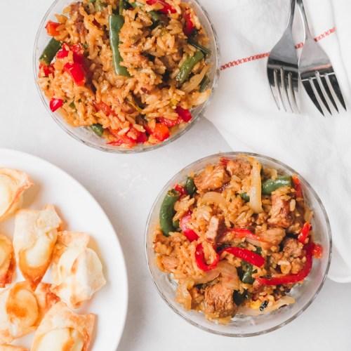 Easy Weeknight Pork Fried Rice Recipe