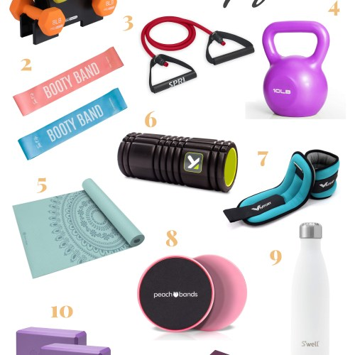 Everything You Need for Your Home Gym