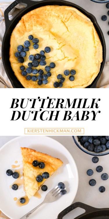 blender buttermilk dutch baby
